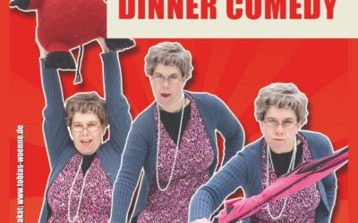 Comedy – Dinner in der Lounge