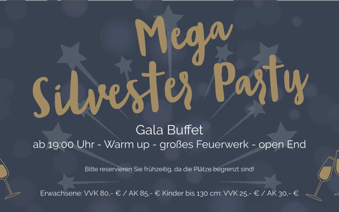 Silvesterparty in der Lounge